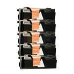Kyocera Mita TK-132 New Compatible Black Toner Cartridges 5 Pack Combo