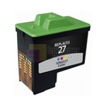 Lexmark 27 (10N0227) Remanufactured Color Ink Cartridge
