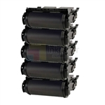 Lexmark 12A6735 New Compatible Black Toner Cartridges 5 Pack Combo High Yield