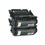 Lexmark 12A6765 New Compatible Black Toner Cartridges 2 Pack Combo High Yield
