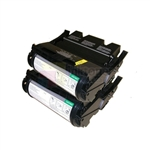 Lexmark 12A7362 New Compatible Black Toner Cartridges 21,000 Pages 2 Pack Combo High Yield