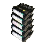 Lexmark 12A7362 New Compatible Black Toner Cartridges 21,000 Pages 5 Pack Combo High Yield