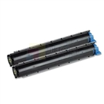 Okidata B2200 2PK 43640301 Toner Cartridge