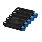 Okidata 44992405 New Compatible Black Toner Cartridges 5 Pack Combo