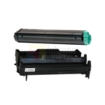 Okidata 42103001 New Compatible Black Toner Cartridge/Okidata 42102801 Compatible Drum Unit 2 Pack Combo