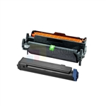 Okidata 43979101 New Compatible Black Toner Cartridge/Okidata 43979001 Compatible Drum Unit 2 Pack Combo