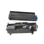 Okidata 44574701 New Compatible Black Toner Cartridge/Okidata 44574301 Compatible Drum Unit 2 Pack Combo