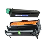OKIDATA 43502001 43501901 B4600 New Compatible Toner Cartridges & Drum