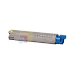 Okidata 43459301 New Compatible Yellow Toner Cartridge High Yield