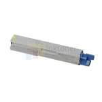 Okidata 43487733 New Compatible Yellow Toner Cartridge