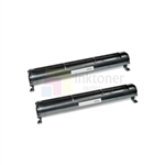 Panasonic KX-FA76 New Compatible Black Toner Cartridges 2 Pack Combo