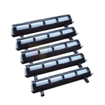 Panasonic KX-FA83 New Compatible Black Toner Cartridges 5 Pack Combo