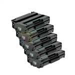 Ricoh 406989 New Compatible Black Toner Cartridges 5 Pack Combo