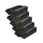 Ricoh 406683 New Compatible Black Toner Cartridges 5 Pack Combo