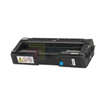 Ricoh 406047 New Compatible Cyan Toner Cartridge High Yield