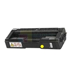 Ricoh 406044 New Compatible Yellow Toner Cartridge High Yield