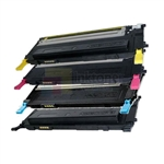 Samsung CLP315 CLP-315 TONER CLT-K409S/C409S/M409S/Y409S New Compatible 4 Color Toner Cartridges Combo
