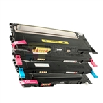 Samsung CLP320 CLP-320 TONER CLT-K407S/C407S/M407S/Y407S New Compatible 4 Color Toner Cartridges Combo