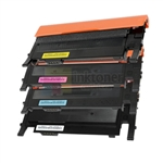 Samsung CLT-K406S/C406S/M406S/Y406S New Compatible 4 Color Toner Cartridges Combo