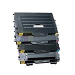 Samsung CLP-500 New Compatible 4 Color Toner Cartridges Combo