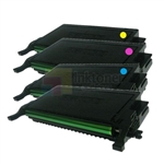 Samsung CLT-K508L/C508L/M508L/Y508L New Compatible 4 Color Toner Cartridges Combo High Yield