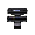 Samsung ML-2010D3 ML- 2510 New Compatible Black Toner Cartridges 2 Pack Combo