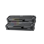 Samsung MLT-D101S New Compatible Black Toner Cartridges 2 Pack Combo