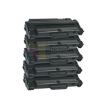 Samsung MLT-D105L New Compatible Black Toner Cartridges 5 Pack Combo