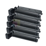 Samsung SCX 5PK312D6 New Compatible Black Toner Cartridges 5 Pack Combo High Yield