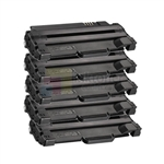 Xerox 108R00909 New Compatible Black Toner Cartridges 5 Pack Combo