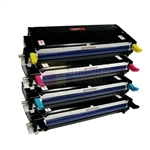 Xerox 113R00723-113R00726 New Compatible 4 Color Toner Cartridges Combo High Yield for Xerox 6180