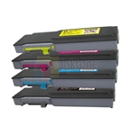 Xerox 106R02225-106R02228 New Compatible 4 Color Toner Cartridges Combo High Yield