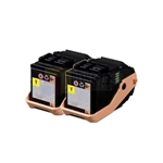 Xerox 106R02604 New Compatible Yellow Toner Cartridges 2 Pack Combo