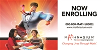 Now Enrolling Transformations Horizontal Banner