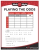 Replacement Playing the Odds Worksheet 3+