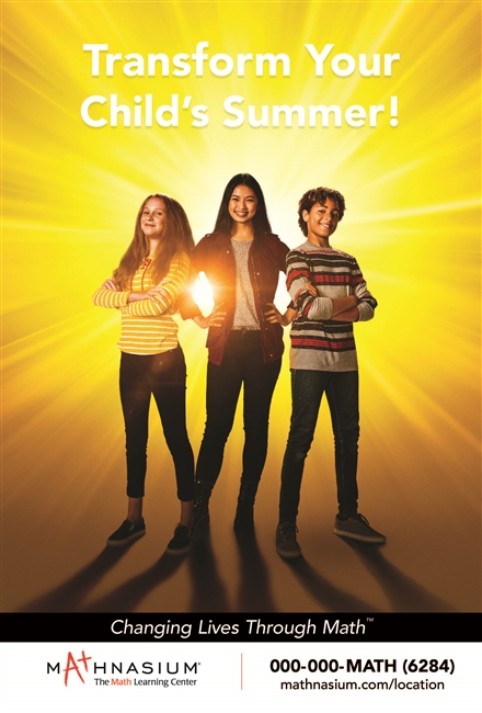 Summer Transform Child Poster