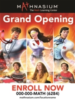 Grand Opening Static Cling