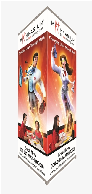 Tower Banner Stand   (vertical banners sold separately for this stand)