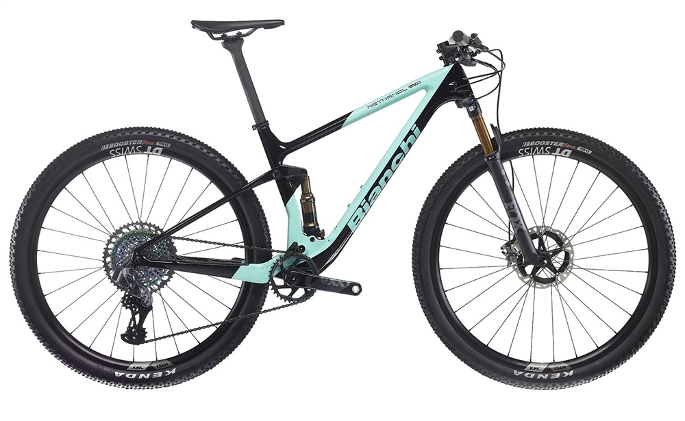 Bianchi Methanol CV 9.1 FS | 2020 | Premium UK Bianchi Full Suspension Mountain Bike Stockist