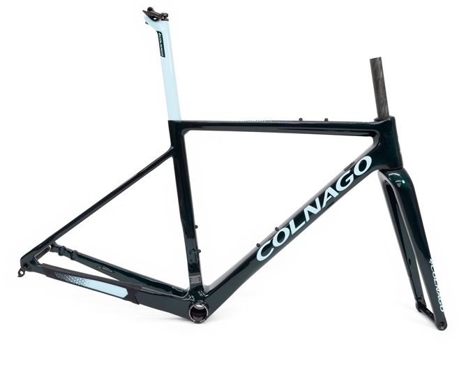 Colnago G3X Frameset | Green Blue | Premium UK Colnago stockist, contact us for competitive pricing.