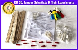 SS-925-1136 Kit 36: Famous Scientists and Their Experiments