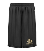 E. Barlow HS Badger Black Shorts