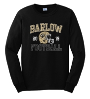 B. Barlow HS Gildan Black Long Sleeve T-Shirt