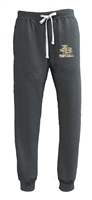 D. Barlow HS Pennant Black Heather Closed Bottom Sweatpants