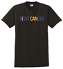 "Collin Cares Cure Cancer Adult ""FIGHT CANCER"" T-Shirt"