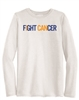 "Collin Cares Cure Cancer Adult ""FIGHT CANCER"" Long Sleeve T-Shirt"