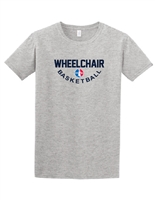 Youth Gray Classic Wheelchair Basketball T-Shirt