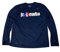 Navy Nike Jr. NWBA Long Sleeve