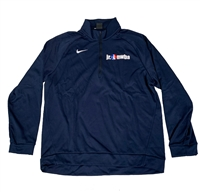 Navy Nike Jr. NWBA Quarter Zip