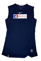 Navy Nike Roll With Us Sleeveless Top